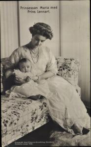 Ak Hertiginnan af Södermanland, Maria von Schweden, Marija Pawlowna Romanowa, Prinz Lennart