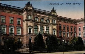 Ak Kaliningrad Königsberg Ostpreußen, Königliche Regierung