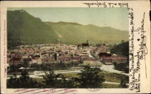 Ak Brașov Brassó Kronstadt Rumänien, Gesamtansicht