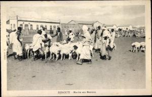 Ak Djibouti Dschibuti, Marché aux Moutons