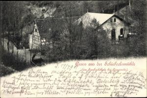 Ak Gauernitz Klipphausen Sachsen, Schiebocksmühle