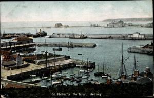 Ak Jersey Kanalinseln, St Helier's Harbour