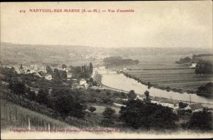 Ak Nanteuil sur Marne Seine et Marne, Vue d'ensemble