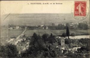 Ak Nanteuil sur Marne Seine et Marne, Vue generale