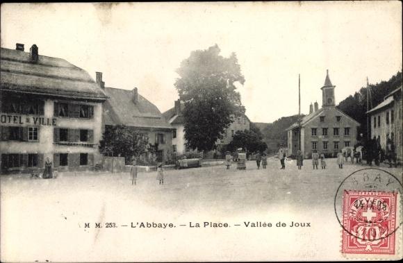 Ak L'Abbaye Kanton Waadt, Place, Vallée de Joux 0