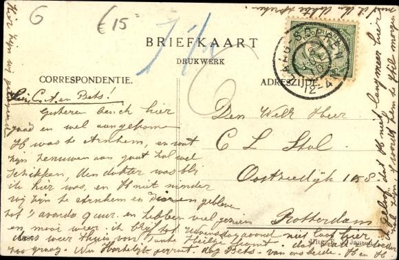 Ak Laag Soeren Rheden Gelderland Niederlande, Pension Diana 1