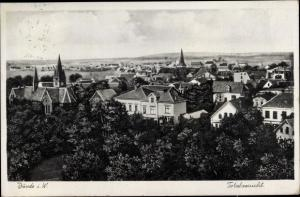 Ak Bünde in Westfalen, Totalansicht
