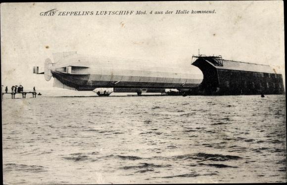 AK Graf Zeppelin's Luftschiff, Mod. 4 0