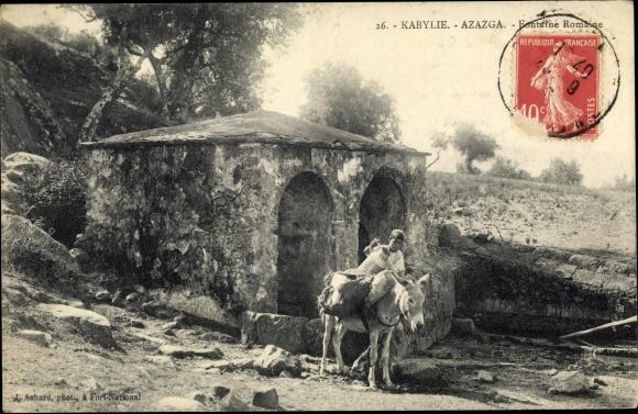 Ak Azazga Ouzou Algerien, Fontaine Romaine 0