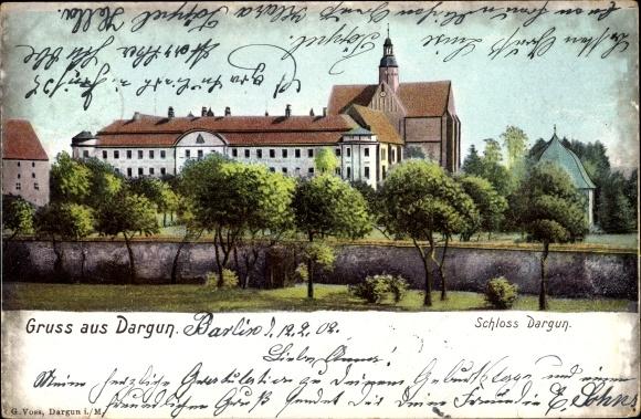Ak Stubbendorf Dargun Mecklenburg, Schloss Dargun 0