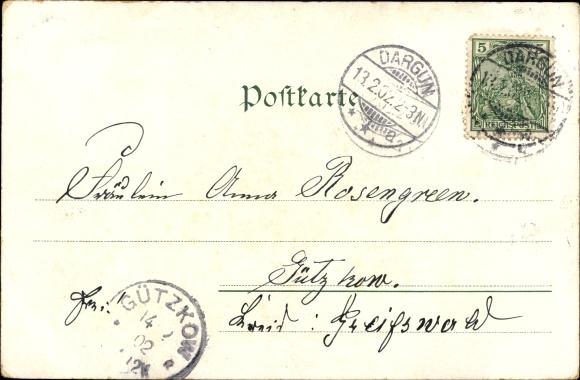 Ak Stubbendorf Dargun Mecklenburg, Schloss Dargun 1