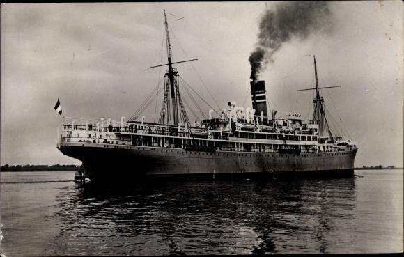Foto Ak Dampfer im Kaiserreich 0