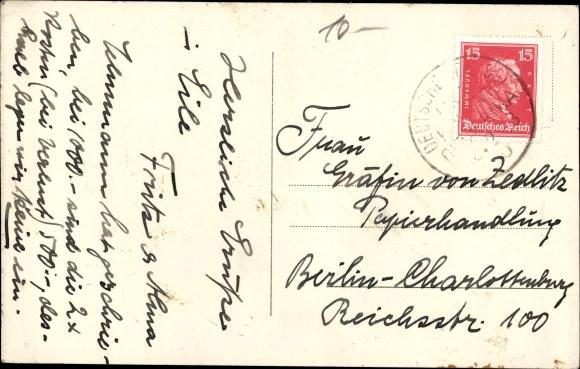 Foto Ak Dampfer im Kaiserreich 1