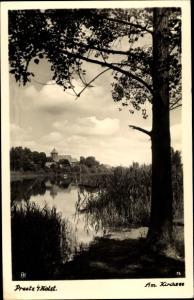 Ak Preetz in Holstein, Am Kirchsee