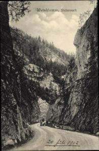 Weizklamm im Grazer Bergland Steiermark
