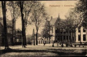 Ak Coevorden Drenthe, Postamt