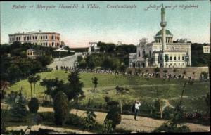 Ak Constantinople Istanbul Türkei, Palais et Mosquee Hamidie a Yldiz