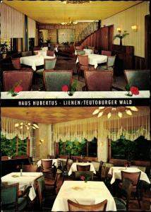 Ak Lienen im Tecklenburger Land, Haus Hubertus, Speisesäle