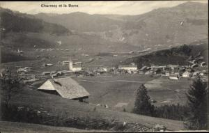 Ak Charmey Freiburg, Charmey et la Berra
