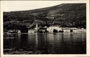 Ak Gruž Gravosa Dubrovnik Kroatien, Panorama