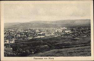 Ak Nisch Nis Serbien, Panorama