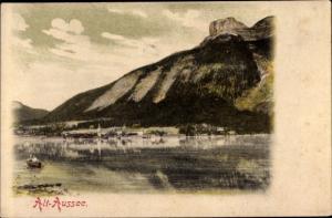 Ak Altaussee Steiermark, Panorama