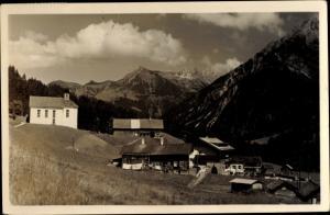 Ak Baad Mittelberg Vorarlberg, Hammerspitze und Schafalpköpf