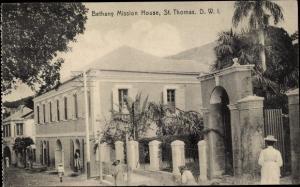 Ak Saint Thomas Amerikanische Jungferninseln, Bethany Mission House
