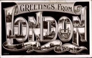 Buchstaben Ak London City England, Tower, London Bridge
