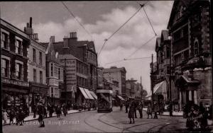 Gravesend Kent England, King Street, Tram