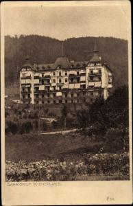 Ak Neuhaus im Wienerwald Weissenbach an der Triesting in Niederösterreich, Sanatorium Wienerwald