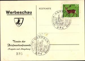 Ak Kappeln an der Schlei, Verein der Briefmarkenfreunde