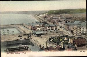 Ak Jersey Kanalinseln, St Hellier looking West