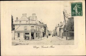 Ak Claye Souilly Seine et Marne, Grande Rue
