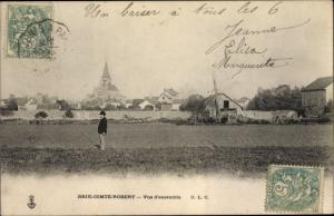 Ak Brie Comte Robert Seine et Marne, Vue d'ensemble
