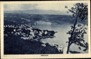 Ak Opatija Abbazia Kroatien, Panorama