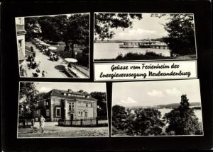 Ak Neubrandenburg in Mecklenburg, Ferienheim der Energieversorgung Neubrandenburg