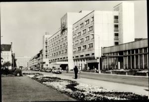 Ak Neubrandenburg in Mecklenburg, HO Hotel Zu den vier Toren