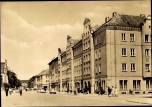 Ak Neubrandenburg in Mecklenburg, Reutercafe, Ernst Thälmann Straße