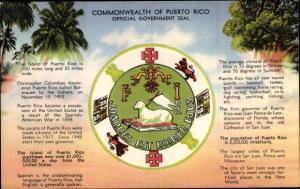 Ak San Juan Puerto Rico, Official Government Seal