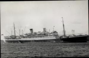 Ak Steamer Rangitiki, Dampfschiff, New Zealand Line