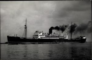 Foto Ak Steamer Prome, Dampfschiff, Henderson Line