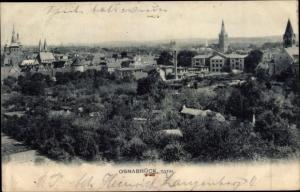 Ak Osnabrück in Niedersachsen, Totalansicht