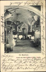 Ak Berlin Mitte, Kaiserkeller, Wachtstube