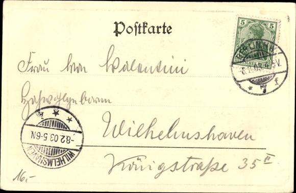 Ak Berlin Mitte, Kaiserkeller, Schifferhaus 1