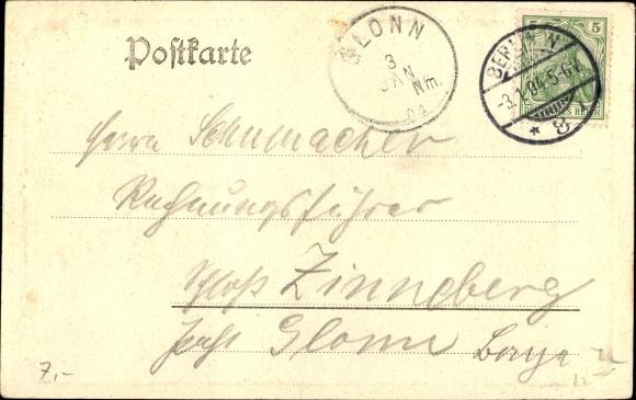 Ak Berlin Mitte, Kaiserkeller, Rosenlaube 1