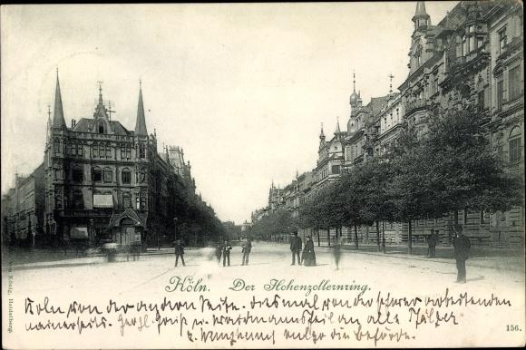 Ak Köln am Rhein, Hohenzollernring 0