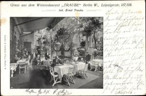 Ak Berlin Mitte, Weinrestaurant Traube, Leipzigerstr. 117/118
