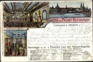 Litho Dresden Zentrum Altstadt, Palast-Restaurant, Konzertsaal, Ferdinandstr. 4