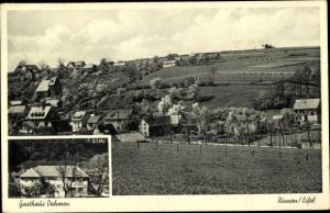 Ak Rinnen Kall in Eifel in Nordrhein Westfalen, Ort, Gasthaus Dahmen